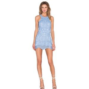 Lovers + Friends Caspian Dress in Crystal Blue